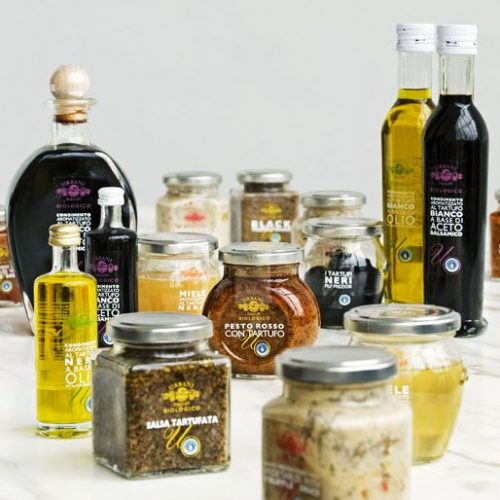 Truffled products